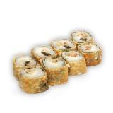 Горячие роллы с угрем и сливочным сыром