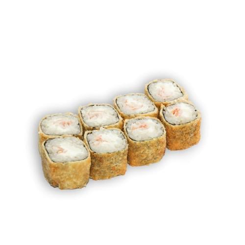 Горячие роллы с креветкой и сливочным сыром