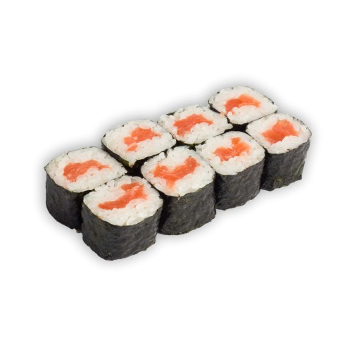 Классические роллы с копченым лососем
